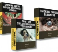 'Fishing bum' cigarette box wraps foil plain packaging laws