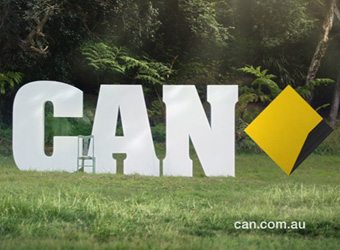 CommBank reveals new can-do brand image after 'CAN'T' teaser build up