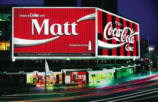 King's Cross Coke sign