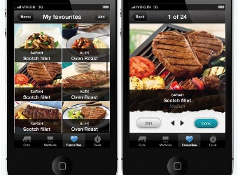 Meat and Livestock Aus's app steaks claim to a Webby Award