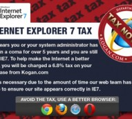 Kogan slams 'antiquated', 'obsolete' IE7, issuing a browser tax