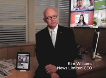 Kim Williams departs News Corp