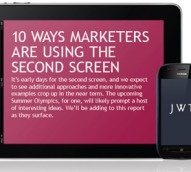 Top10 ways marketers are using the second screen