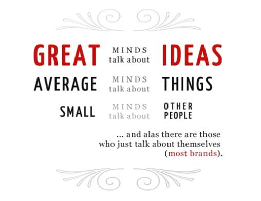 Great, average and small minds