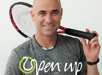 Agassi holds court – interview series for Jacob's Creek
