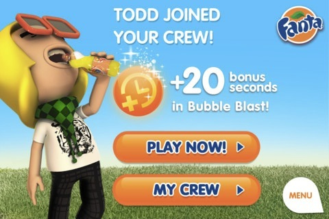 Todd joined your crew!