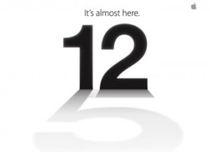 Apple iPhone 5 launch teaser