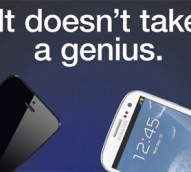 Samsung hits back at Apple with 'It doesn't take a genius' ad