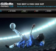 Gillette partners YouTube to create global one-stop football channel