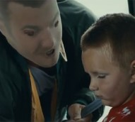 Creepy anti-drinking ad shows drunk parents through children's eyes