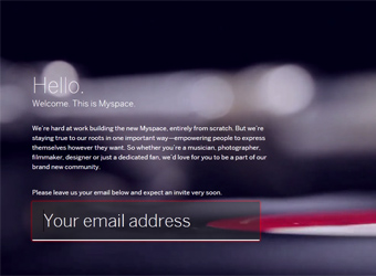New Myspace emerges with renewed music focus, Facebook integration