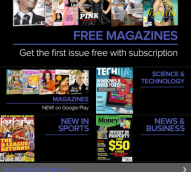 Google Play launches mags in Aus with ACP, Pacific and NewsLife