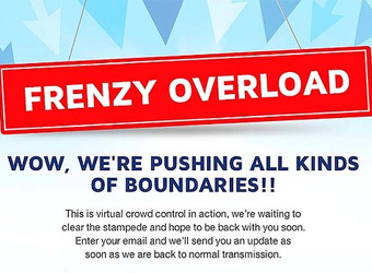 Botched Click Frenzy sale event – advertisers ask for refund