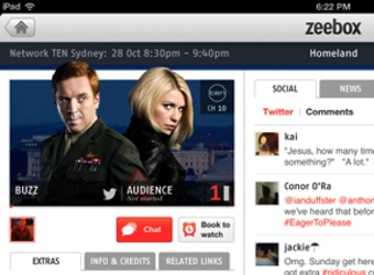 zeebox first social TV app to cover Foxtel channels