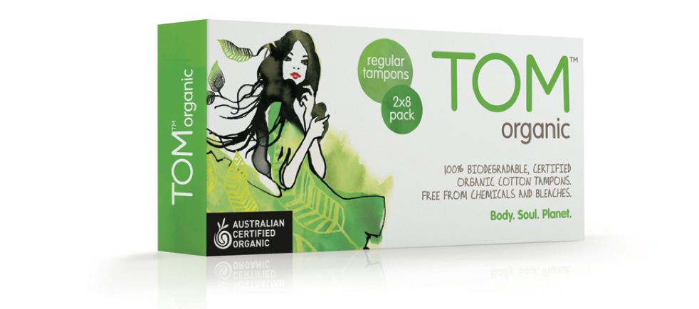 TOM Organic green pack