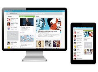 Mashable redesign helps status-seekers share breaking news first