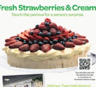 Woolies tries 'NewsScent Technology' in scented cake ads