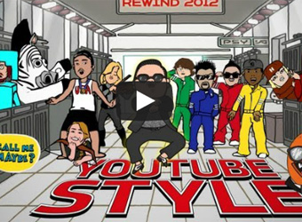 Gangnam domination: the top 10 YouTube videos of 2012