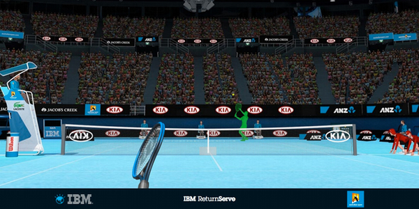 IBM Return Serve game