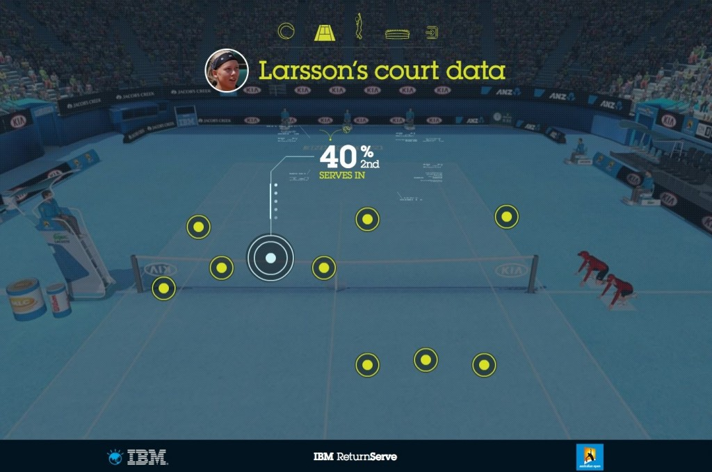 IBM return serve court data