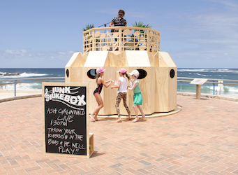 'Junk Jukebox' uses reward as behavioural change motivator to combat Australia Day trash