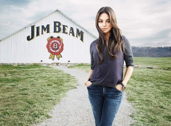 Hollywood star Mila Kunis joins 'Jim Beam family' as ambassador in its first global campaign