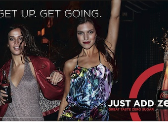 Coke Zero gets $7m push with 'Just Add Zero' campaign