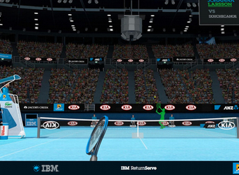 IBM rallies tennis fans with interactive data experience during Aus Open
