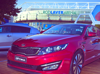 Australian Open sponsorship to serve Kia a million new car intenders