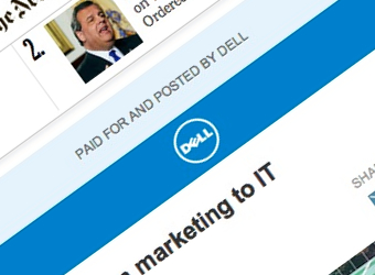 <i>The New York Times</i> unveils native ads with Dell the first to partner