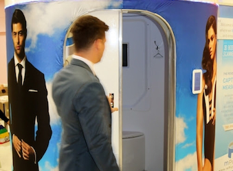 Tailor enlists help from 3D body scanning technology to create perfectly fitting suits