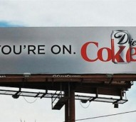 You're on…Coke? Coca-Cola creating buzz over new billboard