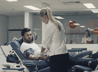 Blood and peace: Lynx and the Australian Red Cross Blood Service join forces