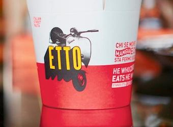 Etto street pasta brand creation
