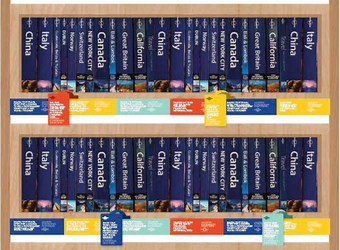 Lonely Planet's 40th anniversary trade campaign