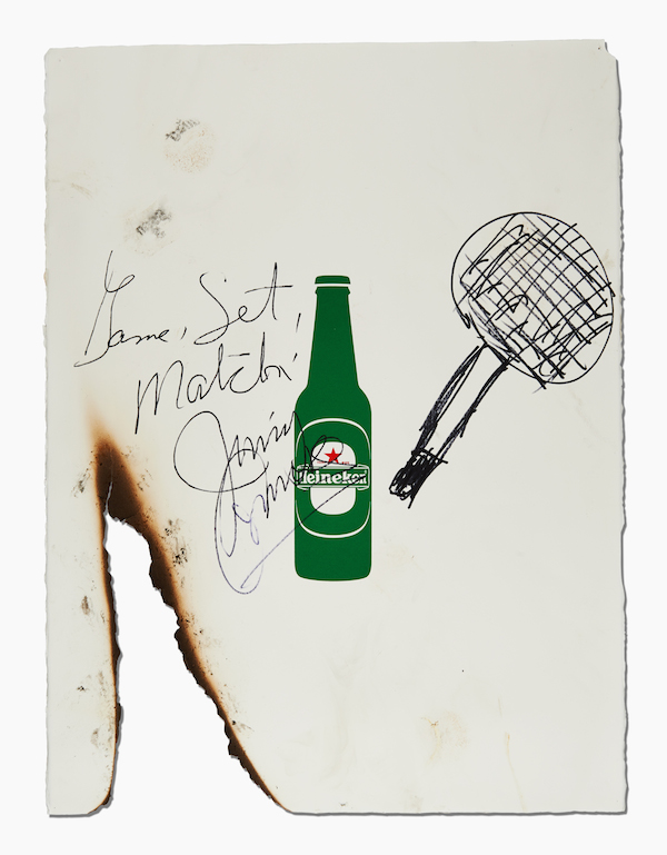 The one that played fire tennis against Jimmy Connors