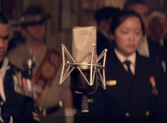 Buy a minute of pre-recorded silence to support ANZAC Appeal