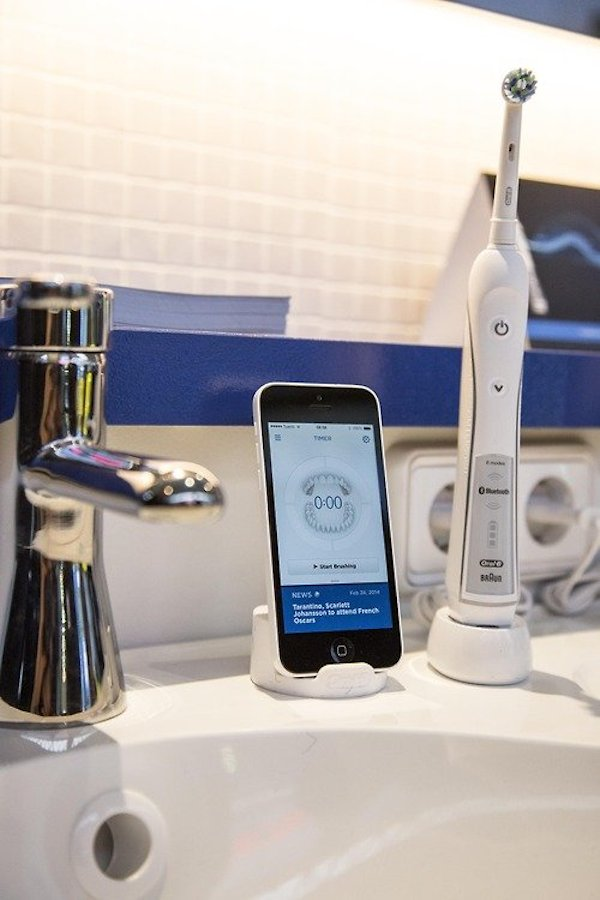 Oral b connected toothbrush