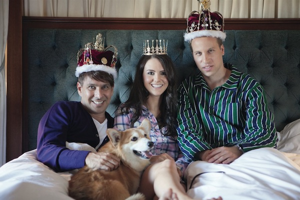 Peter Alexander royal couple
