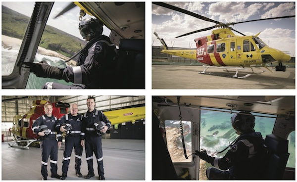 Westpac Air Rescue shots