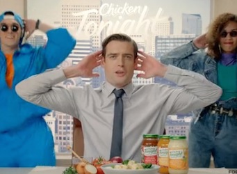 Chicken Tonight apologises for the 90s, reboots with new brand campaign