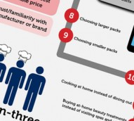 How savvy shoppers hunt for supermarket savings: Datamonitor infographic
