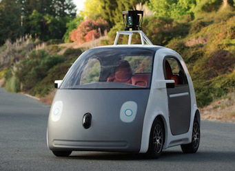 The competition is invisible: what Google's robot car says about your true competitive landscape