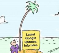 The joy of Google updates – cartoon