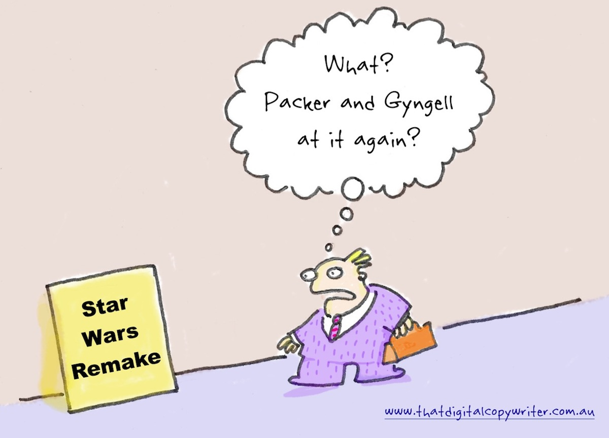 off brief cartoon packer gyngell star wars