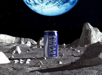 And the first brand on the moon is…