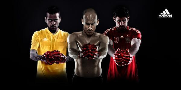 Adidas Hearts the World Cup