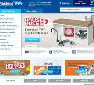 Masters Home Improvement revamps ecommerce offering with 'tablet-first' website