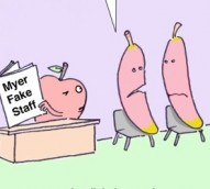 You must be bananas to lie on a CV – cartoon
