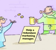 Are marketing managers wasting space? – cartoon